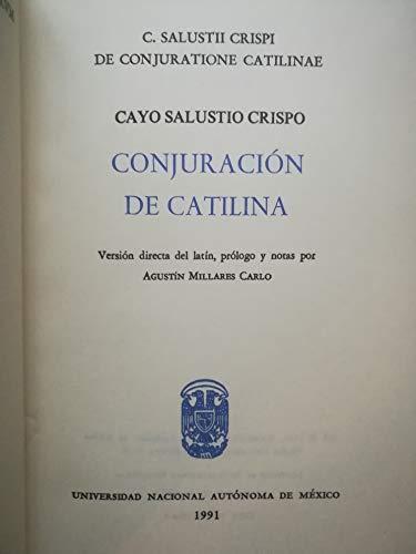9789683615466: Conjuracion de catilina
