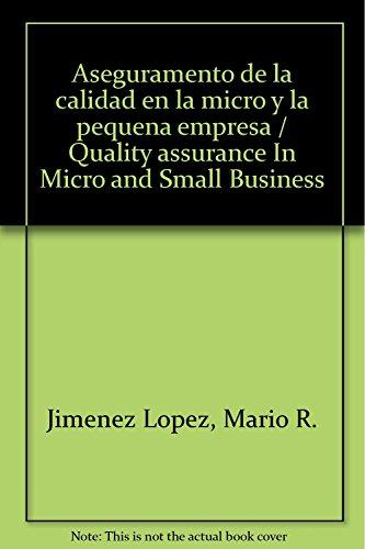9789683809414: Aseguramento de la calidad en la micro e la pequeña Empresa