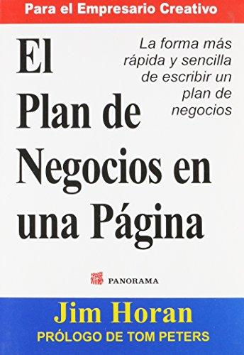 9789683817549: El plan de negocios en una pagina / The business plan on one page (Spanish Edition)