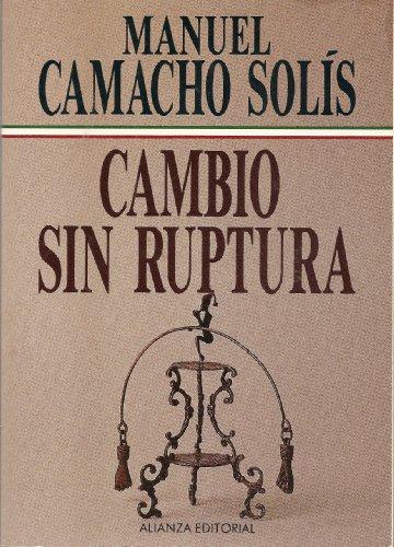 9789683912183: Cambio sin ruptura (Spanish Edition)