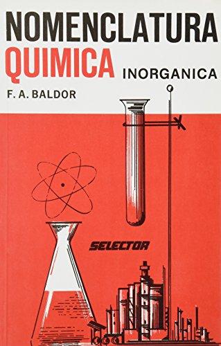 9789684031319: Nomenclatura quimica inorganica / Inorganic Chemical Nomenclature (Spanish Edition)
