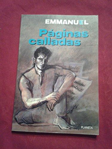 Paginas calladas (Coleccion Textos) (Spanish Edition): Emmanuel