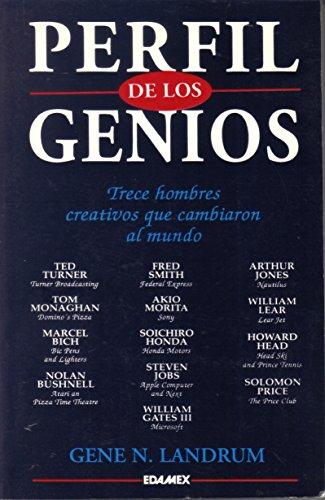 Perfil De Los Genios: Trece Hombres Creativos Que Cambiaron al Mundo: Landrum, Gene N