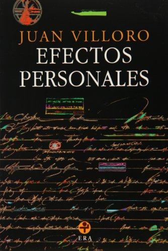 9789684114975: Efectos personales/Personal Effects (Biblioteca Era)