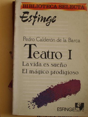 """TEATRO 1 (LA VIDA ES SUEÃ'O, EL: PEDRO CALDERÃ""""N DE"""