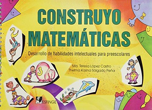 9789684129627: CONSTRUYO MATEMATICAS PRESCOLAR