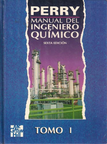 9789684229716: Manual del Ingeniero Quimico (Spanish Edition)