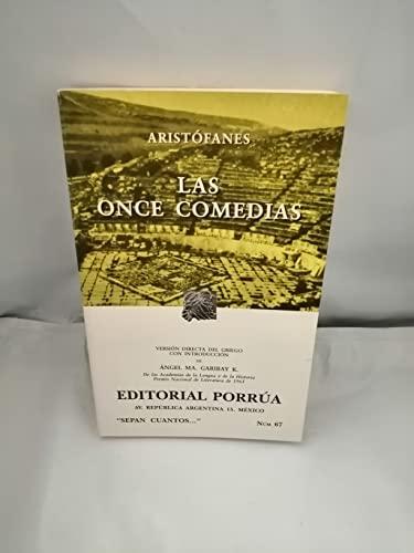 Las Once Comedias (Spanish Edition): Aristofanes