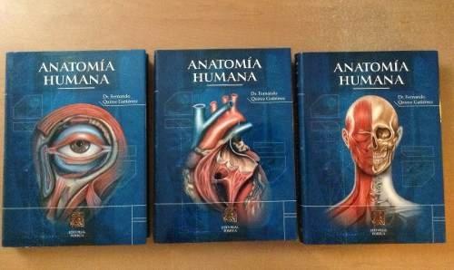 Tratado De Anatomia Humana (Three Volume Set): Dr. Fernando Quiroz