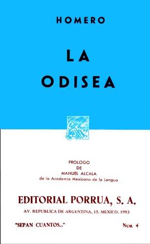La Odisea (Sepan Cuantos. No. 4) (Spanish: Homero