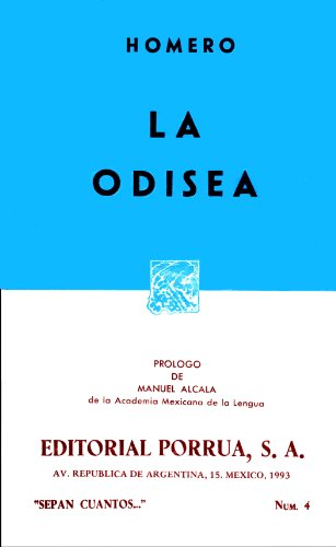 9789684321694: La Odisea