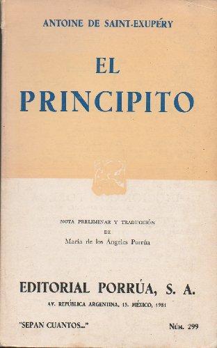 El Principito: ANTOINE DE SAINT