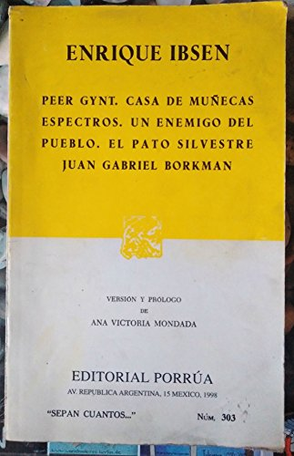 9789684322097: Peer Gynt (Spanish Edition)
