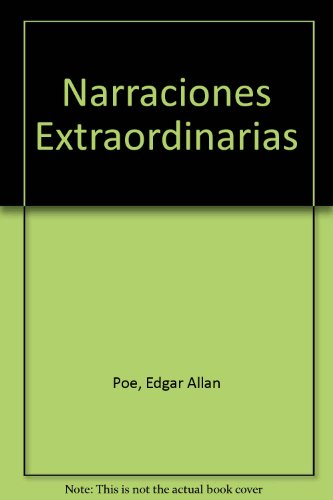 9789684322400: Narraciones Extraordinarias