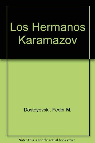 9789684322677: Los Hermanos Karamazov (Spanish Edition)
