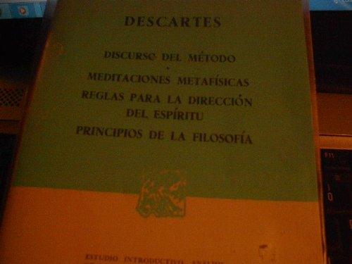 9789684322868: Discurso del Metodo - Meditacion Metafisica (Spanish Edition)