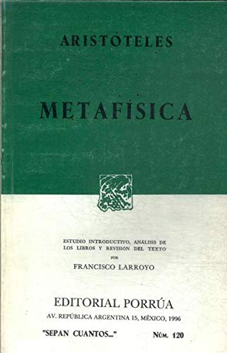 9789684323230: Metafisica (Spanish Edition)