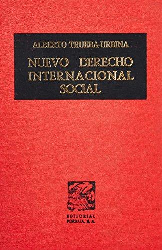 9789684323599: Nuevo derecho internacional social (Spanish Edition)