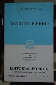 Martin Fierro: Jose Hernandez