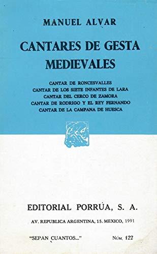 Cantares de gesta medievales: Alvar, Manuel