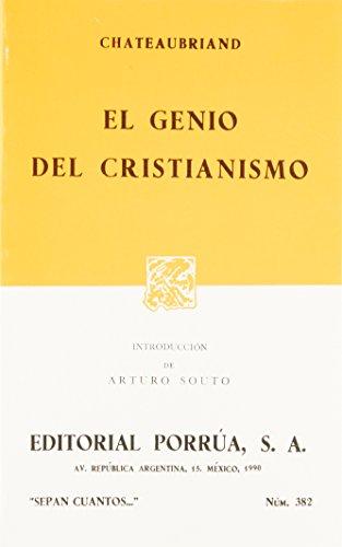 El Genio del Cristianismo (Spanish Edition): Chateaubriand, Francoise-Rene