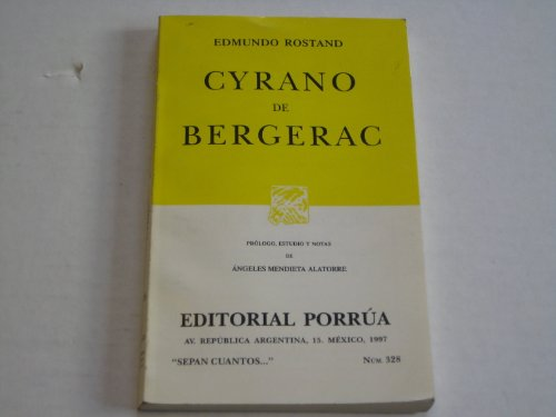 9789684327986: Cyrano de Bergerac (Spanish Edition)