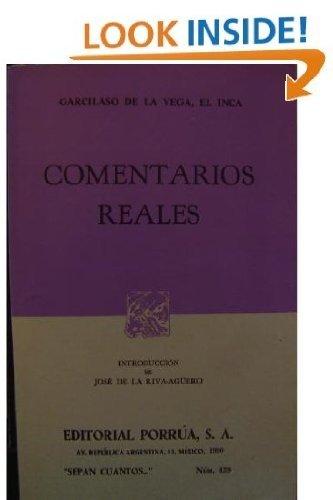 9789684329560: Comentarios Reales (Spanish Edition)