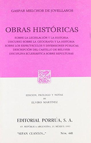 9789684329713: OBRAS HISTORICAS (SC448)
