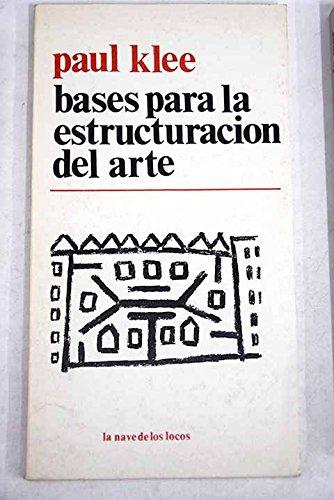 9789684340350: Bases Para La Estructuracion Del Arte