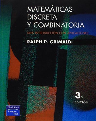9789684443242: Matematicas discretas y combinatorias