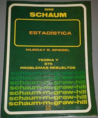 9789684510661: TEORIA Y PROBLEMAS DE ESTADISTICA