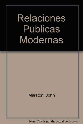 9789684512467: Relaciones Publicas Modernas
