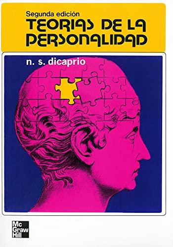 TEORIAS DE LA PERSONALIDAD / 2 ED: DICAPRIO, N.S.