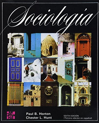 Sociologia (Spanish Edition): Horton, Paul B.