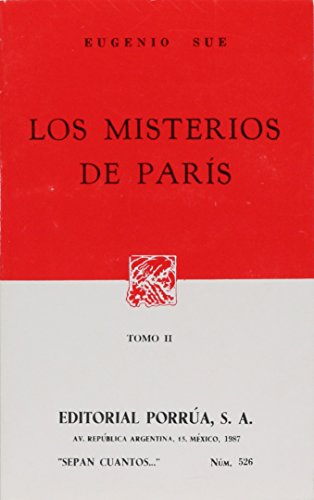 9789684522138: MISTERIOS DE PARIS 2, LOS (SC526)