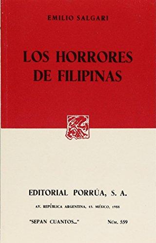 HORRORES DE FILIPINAS, LOS (SC559): SALGARI, EMILIO