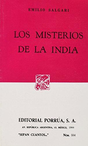 MISTERIOS DE LA INDIA, LOS (SC554): SALGARI, EMILIO