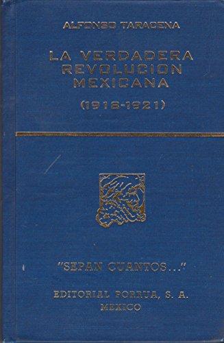 VERDADERA REVOLUCION MEX.1918-21 / S.C.613: TARACENA, ALFONSO