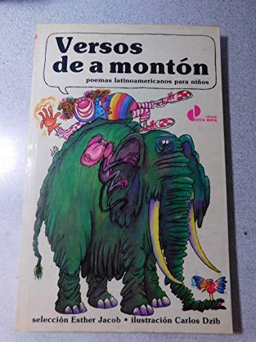 Versos de a monton: Poemas latinoamericanos para ninos (Coleccion de literatura infantil y juvenil) (Spanish Edition)