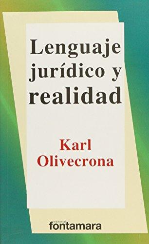 lenguaje juridico y realidad: Olivecrona, Karl