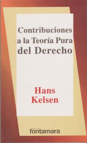 9789684761360: CONTRIBUCIONES A LA TEORÍA PURA DEL DERECHO