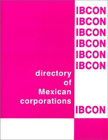 9789685097574: Directory of Mexican Corporations