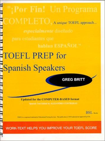 9789685210003: TOEFL Prep for Spanish Speakers