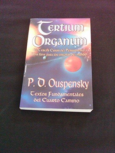 Tertium Organum: Pedro Ouspensky