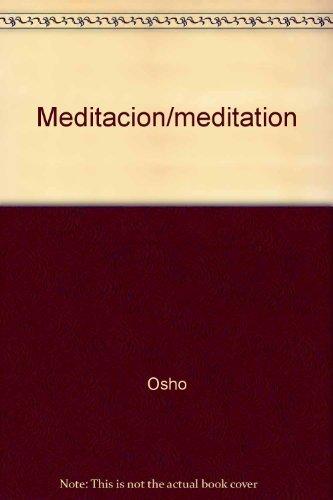 9789685960083: Meditacion/meditation