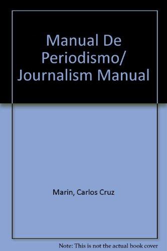 9789685964562: Manual De Periodismo/ Journalism Manual
