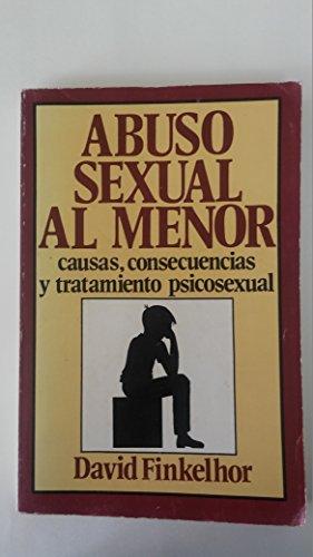 9789686055382: Abuso Sexual Al Menor (Spanish Edition)