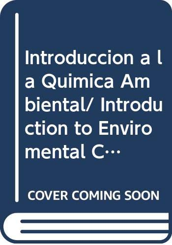 9789686708608: introduccion a la quimica ambiental