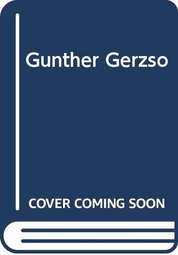 Gunther Gerzso (Spanish Edition) (9686808086) by Dore Ashton