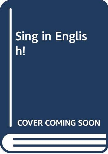 Sing in English!: Kniveton, Julie; Monterrubio,